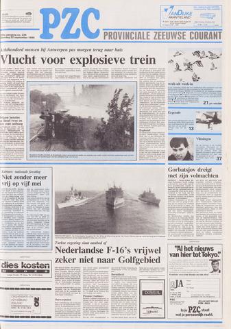 Provinciale Zeeuwse Courant 1990-09-22
