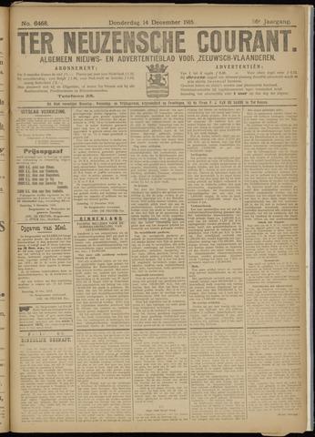 Ter Neuzensche Courant. Algemeen Nieuws- en Advertentieblad voor Zeeuwsch-Vlaanderen / Neuzensche Courant ... (idem) / (Algemeen) nieuws en advertentieblad voor Zeeuwsch-Vlaanderen 1916-12-14
