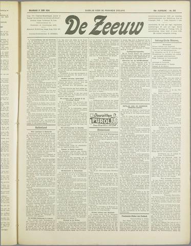 De Zeeuw. Christelijk-historisch nieuwsblad voor Zeeland 1934-06-11