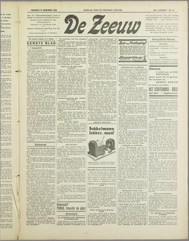 De Zeeuw. Christelijk-historisch nieuwsblad voor Zeeland 1934-12-10