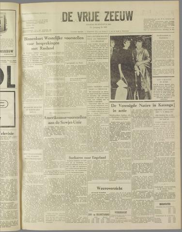 de Vrije Zeeuw 1961-08-29