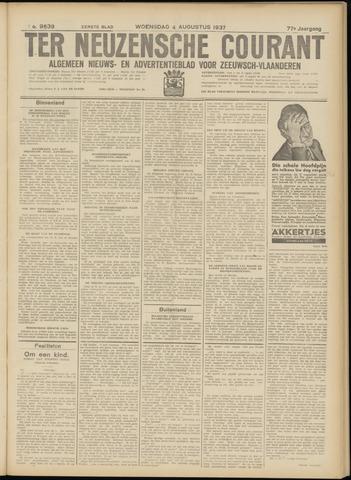 Ter Neuzensche Courant. Algemeen Nieuws- en Advertentieblad voor Zeeuwsch-Vlaanderen / Neuzensche Courant ... (idem) / (Algemeen) nieuws en advertentieblad voor Zeeuwsch-Vlaanderen 1937-08-04