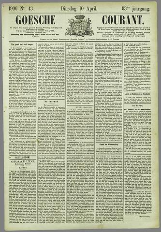Goessche Courant 1906-04-10