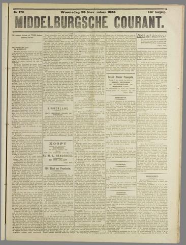 Middelburgsche Courant 1925-11-25