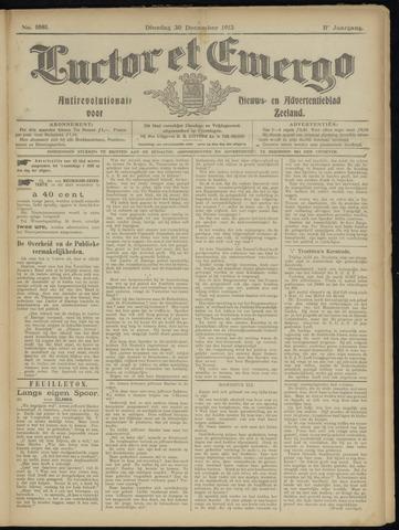 Luctor et Emergo. Antirevolutionair nieuws- en advertentieblad voor Zeeland / Zeeuwsch-Vlaanderen. Orgaan ter verspreiding van de christelijke beginselen in Zeeuwsch-Vlaanderen 1913-12-30