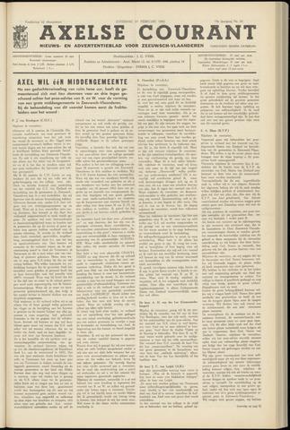 Axelsche Courant 1965-02-27
