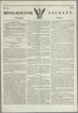 Middelburgsche Courant 1871-03-08