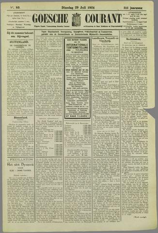 Goessche Courant 1924-07-29
