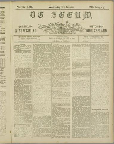 De Zeeuw. Christelijk-historisch nieuwsblad voor Zeeland 1906-01-24
