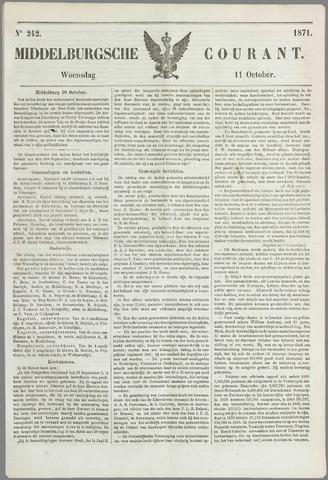 Middelburgsche Courant 1871-10-11