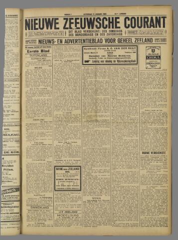 Nieuwe Zeeuwsche Courant 1925-01-17