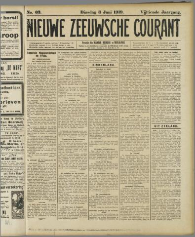 Nieuwe Zeeuwsche Courant 1919-06-03