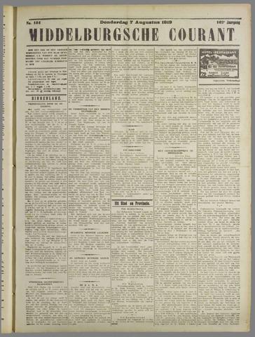 Middelburgsche Courant 1919-08-07