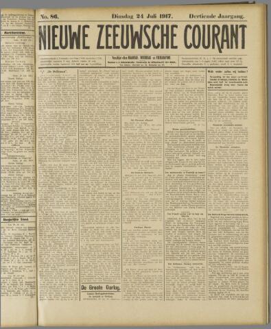 Nieuwe Zeeuwsche Courant 1917-07-24
