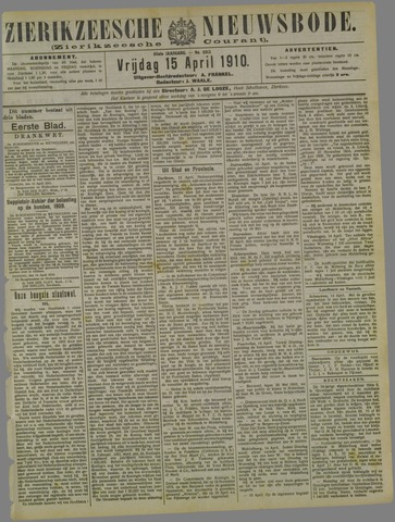 Zierikzeesche Nieuwsbode 1910-04-15