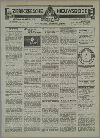 Zierikzeesche Nieuwsbode 1937-08-06