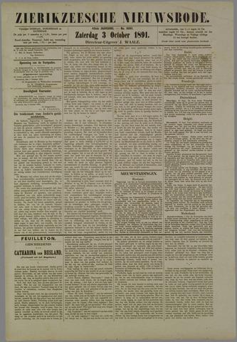 Zierikzeesche Nieuwsbode 1891-10-03