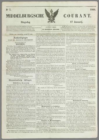 Middelburgsche Courant 1860-01-17