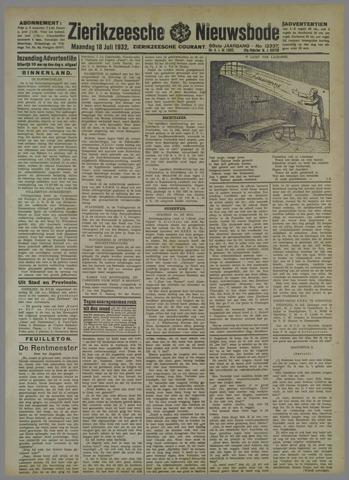 Zierikzeesche Nieuwsbode 1932-07-18