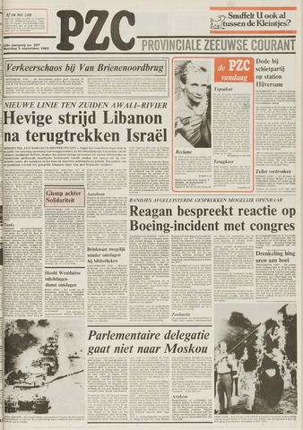 Provinciale Zeeuwse Courant 1983-09-05