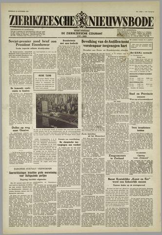 Zierikzeesche Nieuwsbode 1955-10-25