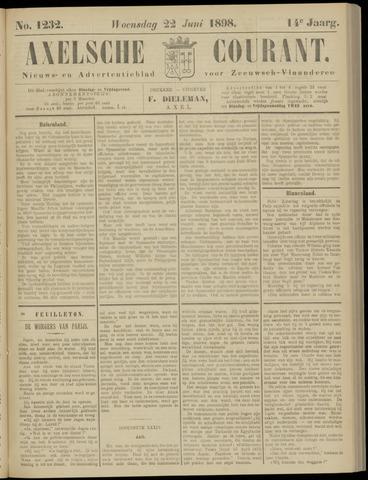 Axelsche Courant 1898-06-22
