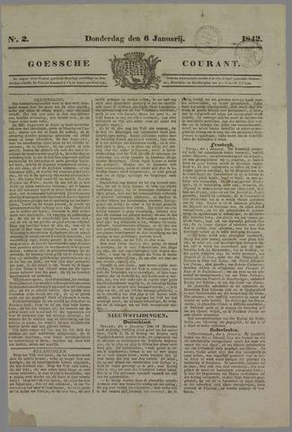 Goessche Courant 1842-01-06