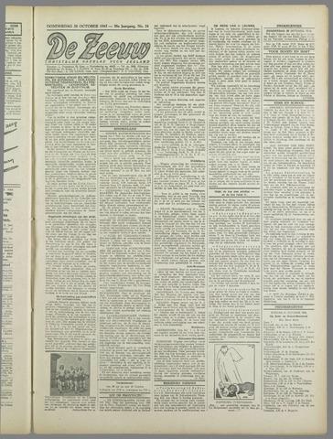 De Zeeuw. Christelijk-historisch nieuwsblad voor Zeeland 1943-10-28
