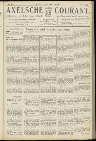 Axelsche Courant 1939-05-26