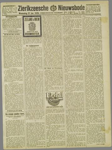 Zierikzeesche Nieuwsbode 1926-01-27