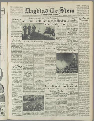 de Stem 1951-11-07