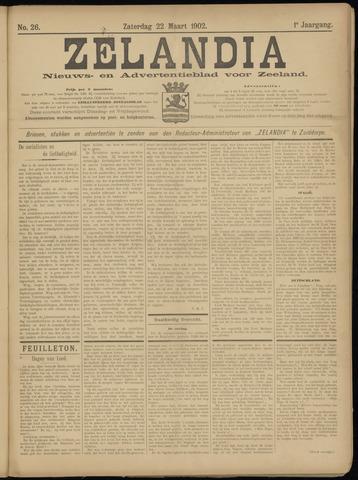 Zelandia. Nieuws-en advertentieblad voor Zeeland | edities: Het Land van Hulst en De Vier Ambachten 1902-03-22