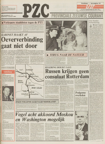 Provinciale Zeeuwse Courant 1983-01-13