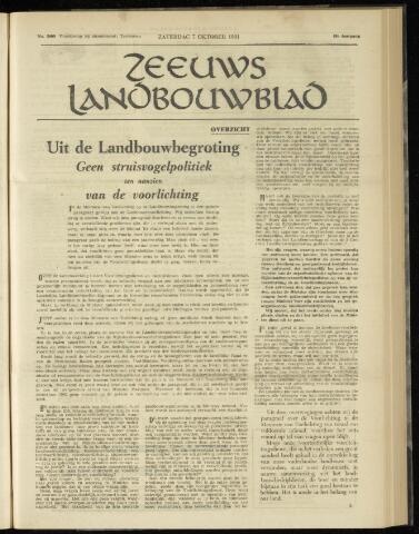 Zeeuwsch landbouwblad ... ZLM land- en tuinbouwblad 1961-10-07