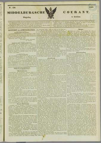 Middelburgsche Courant 1846-10-06