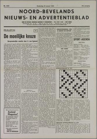Noord-Bevelands Nieuws- en advertentieblad 1983-01-20