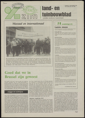 Zeeuwsch landbouwblad ... ZLM land- en tuinbouwblad 1990-12-07