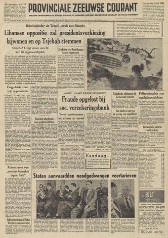 Provinciale Zeeuwse Courant 1958-07-31
