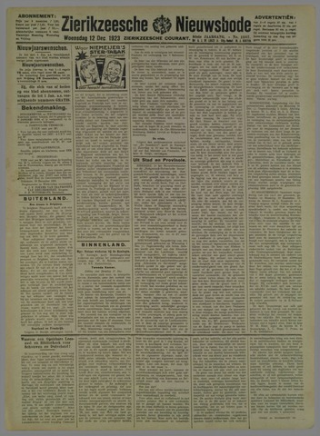 Zierikzeesche Nieuwsbode 1923-12-12