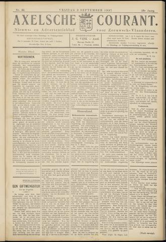 Axelsche Courant 1937-09-03