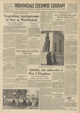 Provinciale Zeeuwse Courant 1954-10-07