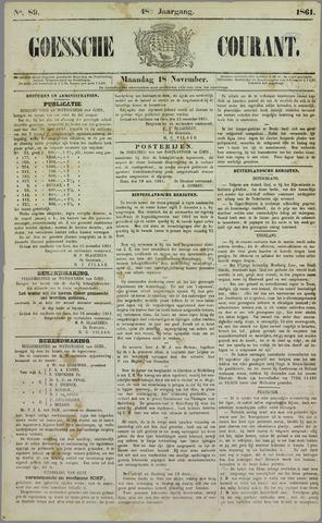 Goessche Courant 1861-11-18