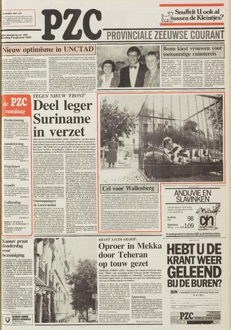 Provinciale Zeeuwse Courant 1987-08-04