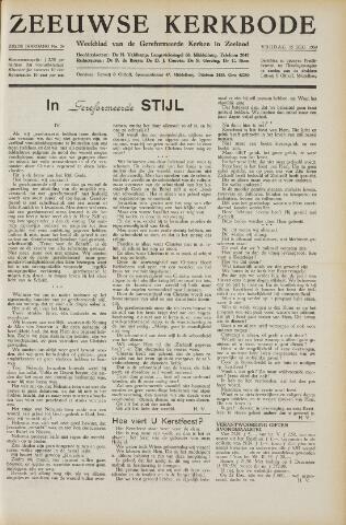 Zeeuwsche kerkbode, weekblad gewijd aan de belangen der gereformeerde kerken/ Zeeuwsch kerkblad 1950-12-15