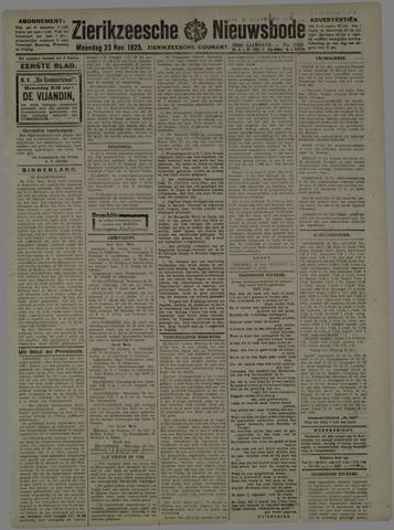 Zierikzeesche Nieuwsbode 1925-11-23