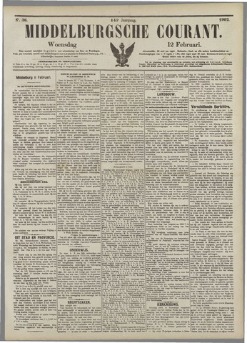 Middelburgsche Courant 1902-02-12
