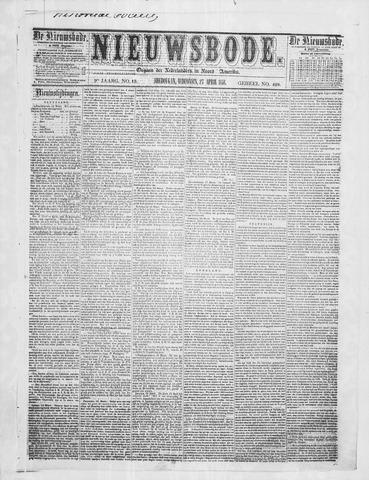 Sheboygan Nieuwsbode 1858-04-27