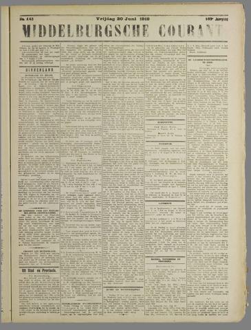 Middelburgsche Courant 1919-06-20