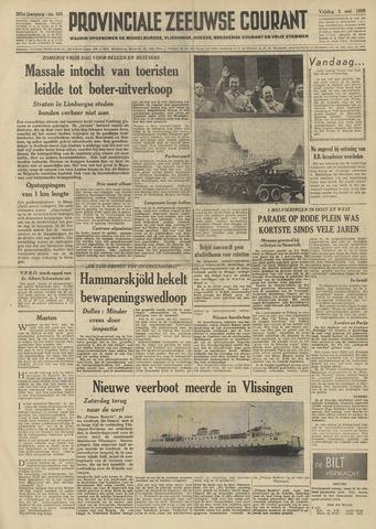 Provinciale Zeeuwse Courant 1958-05-02