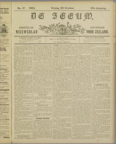 De Zeeuw. Christelijk-historisch nieuwsblad voor Zeeland 1905-10-20